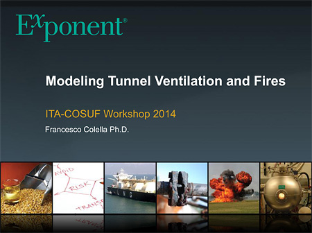 Modeling Tunnel Ventilation and Fires
