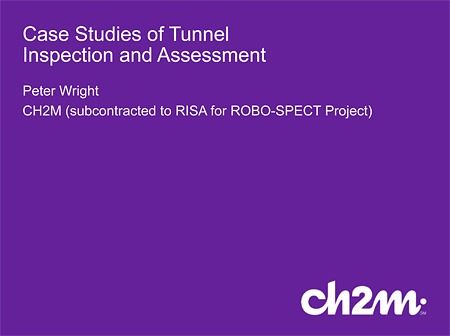 Case Studies of Tunnel Inspection and Assessment