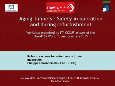Robotic systems for autonomous tunnel inspection