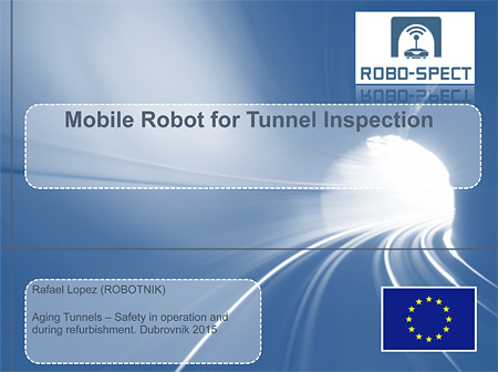 Mobile Robot for Tunnel Inspection