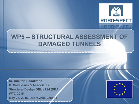 WP5 – Structural Assessment Of Damaged Tunnels