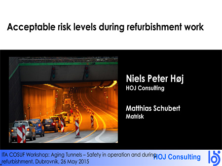 Acceptable risk levels during refurbishment work